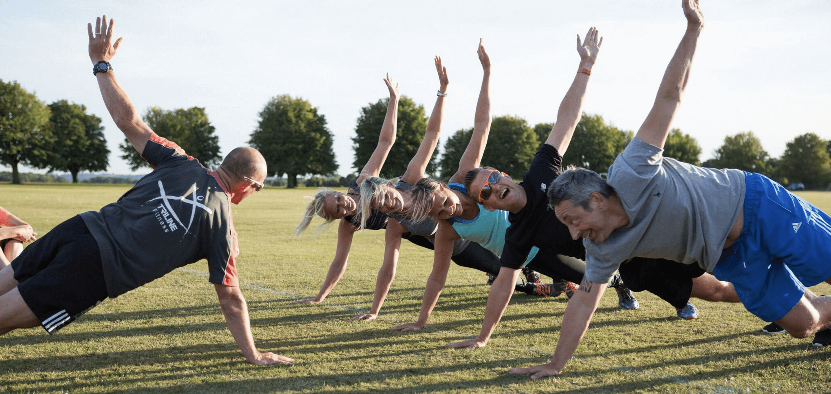 Group Exercise Class, photography by Becky Kerr
